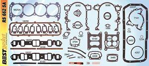 1964-1967 Buick 300, 340 Engine Full Gasket Set. Best. Free Shipping!