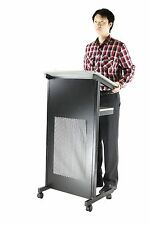 Lectern & Podium Portable Lecture Stand and Presentation Stand