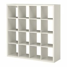 IKEA KALLAX Regal in wei�Ÿ (147x147cm) Raumteiler Bücherregal Passend zu EXPEDIT