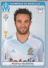 N°270 MATHIEU VALBUENA OLYMPIQUE MARSEILLE OM STICKER  PANINI FOOT 2011-2012