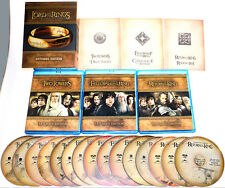 Lord of the Rings: The Motion Picture Trilogy - Extended Edition Blu Ray New!