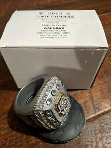 San Francisco Giants 2014 World Series Replica Ring RARE Promo Giveaway Large