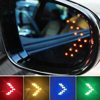 Lámpara indicadora de señal de giro LED 14-SMD para espejo lateral automóvil