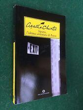 Agatha CHRISTIE - SIPARIO L'ULTIMA AVVENTURA POIROT Oscar/1477 Mondadori (2011)