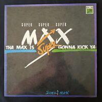 SUPERMAX The Max Is Gonna Kick Ya RGM Russian 1992 DISCO VINYL LP NM