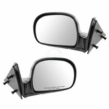 Manual Side View Mirrors Left & Right Pair Set for Blazer Jimmy S10 Pickup Truck