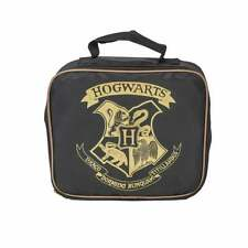 Blue Sky Designs Ltd Harry Potter Hogwarts Lunch Bag Black/Gold SLHP029