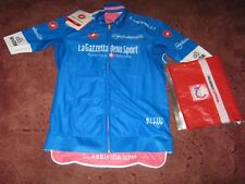 Giro d'Italia 2018 Blue Mountain Classification Castelli cycling jersey [M] BNWT