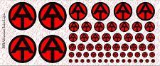 Decals: GI Joe Adventure Team Logos - Waterslide Decals Various Sizes