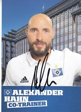 Autogrammkarte Alexander Hahn HSV Hamburger SV DFB WM 2018/19 18/19 LOOK