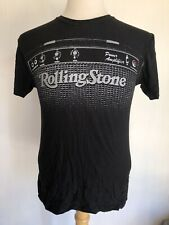 ROLLING STONE MAGAZINE COLLECTION Official Guitar Amplifier T-Shirt Size Small