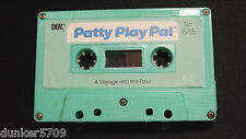 PATTY PLAY PAL DOLL AUDIO CASSETTE TAPE A VOYAGE INTO THE PAST 1987 WORKS