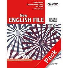 New English File Elementary: Workbook with Answer Bookl - Paperback NEW Oxenden,