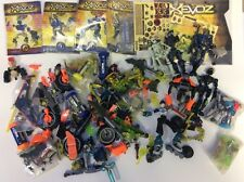 Lot Hasbro Xevoz Bendable Action Figures Toys Parts Sectoid Neo Sapiens