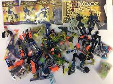 Lot Hasbro Xevoz Bendable Action Figures Toys Parts Sectoid Neo Sapiens