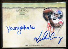 2012 TOPPS FIVE STAR VICTOR CRUZ QUOTABLE AUTO 5/10 RARE INSCRIPTION YOUNGWHALES