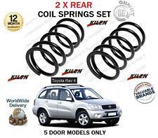 Pour toyota RAV4 2.0 vvti 2.0TD D4D 5 portes 2000-2005 2X neuf arrière coil spring set