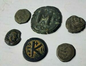 LOT 6 Ancient Coins Byzantine Empire and others  From a Coins Collector's Estate