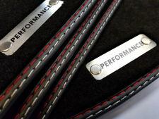 Performance Fußmatten für Audi A4 8H Cabrio Original Qualität Velours Metal Logo
