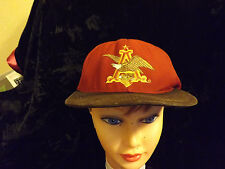anheuser-busch collectors edition baseball hat #5804 out of 10000