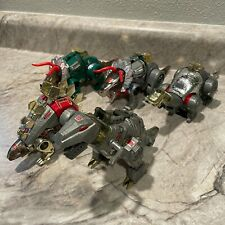 DINOBOT - Lot of 5 - Transformers - G1 - 1984 - See Pictures