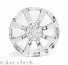 "4 NEW Chevy Silverado Avalanche Chrome 22"" Wheels Rims Lugs Free Shipping 5409"