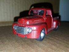 Maisto 1948 Ford Pickup Truck 1:36 Scale Diecast Friction Pull Back Motor Maroon