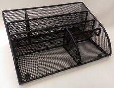 Black mesh desktop desk tidy multifunctional high quality display pen stand