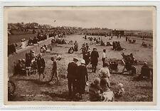 THE BEACH, TROON: Ayrshire postcard (C1947).