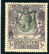 Used George V (1910-1936) Gambian Stamps