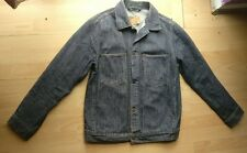 Levi Strauss Mens Jeans Denim Azul Vintage Chaqueta Tamaño S Pequeño Reino Unido 34-36 70511