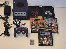 Nintendo GameCube Console Bundle Controller Mario Party 7 LUIGI'S MANSION