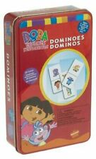 Dominoes 28 Dora The Explorer Collectable Tin Child Girls Kids Toy Nickelodeon