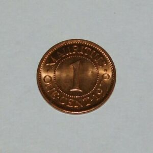 1970 MAURITIUS 1 CENT COIN