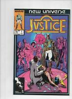 JUSTICE #1 2 3 4 5 6 7 8 9 10 11 12 13 14 15-31, VF/NM, Marvel, 1986, 1-31 set
