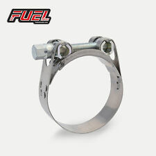 63-68mm Motorcycle Exhaust Clamp W2 Norma Stainless, Clip, Bracket, Banjo, Strap