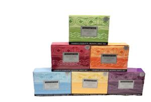 Chakra Energetic 6 Piece Sheet Set Bedding 1200 Series Cotton Blend All Sizes