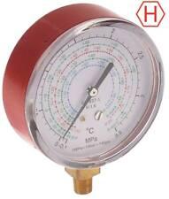"Manometer Anschluss 1/8"" NPT HIGH ø 80mm R22/R134a/R410a/R407c"