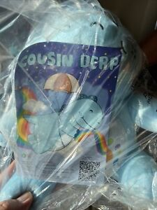 Moriah Elizabeth Cousin Derp The Dinosaur Pickle Plushie - Brand New In Bag