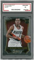 CJ McCOLLUM #182 RC Rookie 2013-14 Panini Select ~ BSG 10