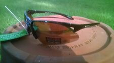 Maxx 2 HD Sunglasses black golf driving lens brown high definition F6