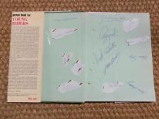 Memorabilia Autograph Show Jumping Book - 14 Signatures Derek Ricketts Ann Moore