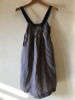 Silk Halter  Dress Womens Vintage Sz M