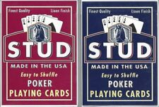 2 DECKS Stud (Walgreens) Poker playing cards FREE USA SHIP!