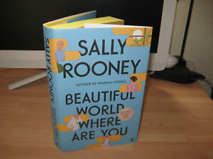 Sally Rooney - Beautiful World Where Are You 1st exclusive limited sprayed edges