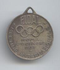 Orig.Teilnehmermedaille   Int.Leichtatletik Meeting ROM (Italien) 1957  !!  TOP