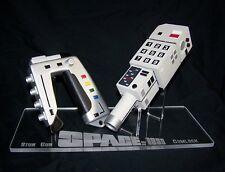 1 X Soporte de exhibición de acrílico-espacio 1999 commlock & pistola de aturdimiento Accesorios