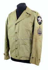 "Blouson M41, 2è DI ""Indian Head"" - US ARMY WW2 (matériel original)"