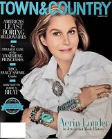 TOWN & COUNTRY MAG FEBRUARY 2020- AERIN LOUDER IN JEWELS THAT MADE HISTORY