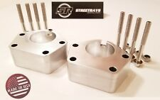 """SR Billet 3"""" Front Lift Ball Joint Spacer Kit Toyota 84-95 IFS 4Runner 2WD & 4WD"""